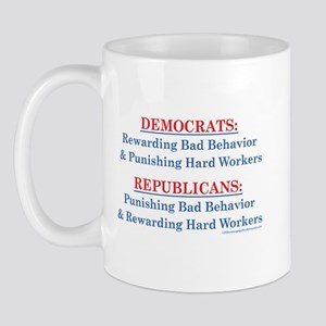 Democrats & Republicans - def Mug