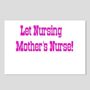 Let Nursing Mothers Nurse Postcards (Package of 8)
