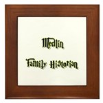 Medlin Family Historian Framed Tile