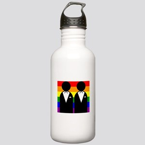 Two Grooms Stainless Water Bottle 1.0L