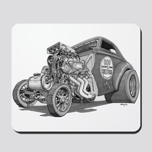 Old School Gasser Mousepad