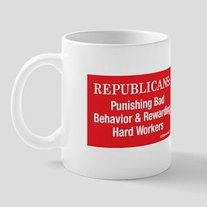 Democrats & Republicans- desi Mug