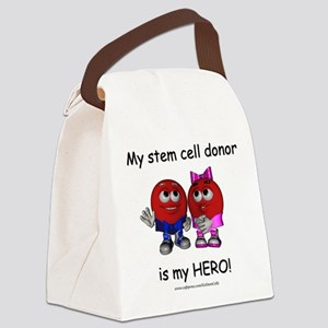 """My Heros"" Canvas Lunch Bag"