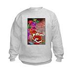 Dragon-Claus Kids Sweatshirt