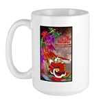 Dragon-Claus Large Mug (RH)