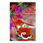 Dragon-Claus Postcards (Package of 8)