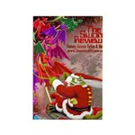 Dragon-Claus Rectangle Magnet (100 pack)