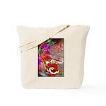 Dragon-Claus Tote Bag
