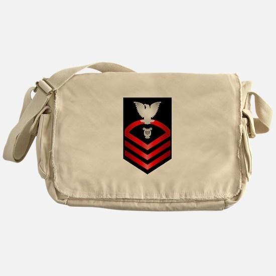 Navy Chief Musician Messenger Bag
