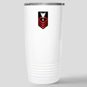 Navy Chief Musician Stainless Steel Travel Mug