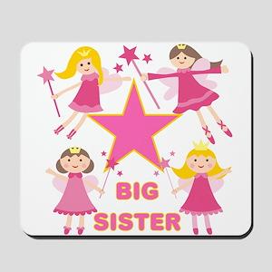 Fairy Princesses Big Sister Mousepad