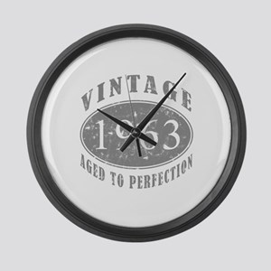 1963 Birthday Vintage Large Wall Clock