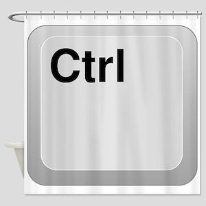Ctrl Computer Key Shower Curtain