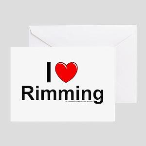 Rimming Greeting Card