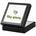 Earp Family Historian Keepsake Box