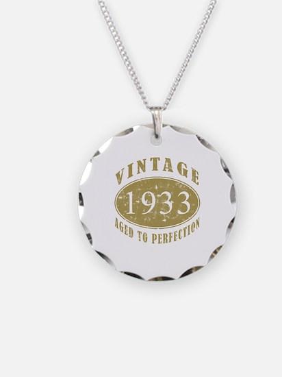 1933 Birthday Vintage Necklace