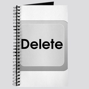 Delete Button Computer Key Journal