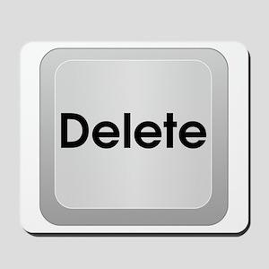 Delete Button Computer Key Mousepad