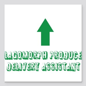 Lagomorph Produce Delivery Assistant Square Car Ma