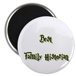 Best Family Historian Magnet