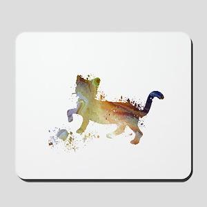 Cat art Mousepad