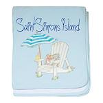 SSI Beach Chair baby blanket