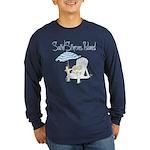 SSI Beach Chair Long Sleeve Dark T-Shirt