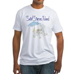 SSI Beach Chair Fitted T-Shirt