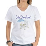 SSI Beach Chair Women's V-Neck T-Shirt