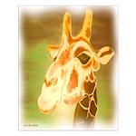 Henri The Giraffe Small Poster