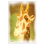 Henri The Giraffe Large Poster