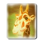 Henri The Giraffe Mousepad