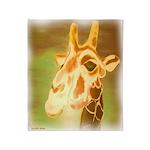 Henri The Giraffe Throw Blanket