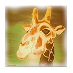 Henri The Giraffe Tile Coaster
