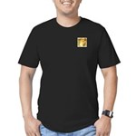 Henri The Giraffe Men's Fitted T-Shirt (dark)