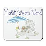 SSI Beach Chair Mousepad