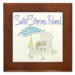 SSI Beach Chair Framed Tile