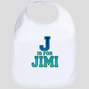 J is for Jimi Bib
