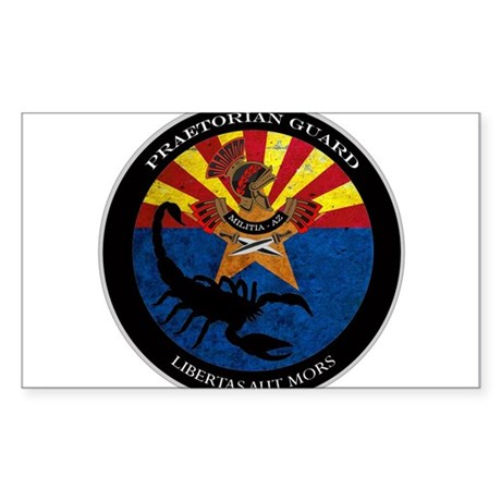 Militia Logo Sticker