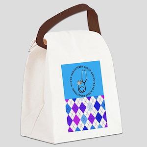 Registered Nurse 7 Canvas Lunch Bag