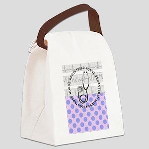 Registered Nurse 2 Canvas Lunch Bag