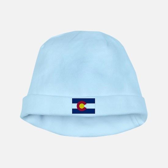 Colorado Flag baby hat