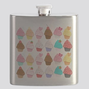 Lots Of Cupcakes Flask