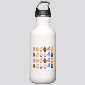 Lots Of Cupcakes Sports Water Bottle