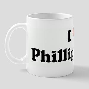 I Love Phillip Kakas Mug