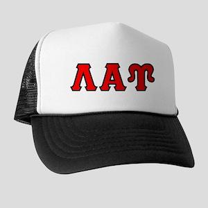 Lambda Alpha Upsilon Letters Trucker Hat