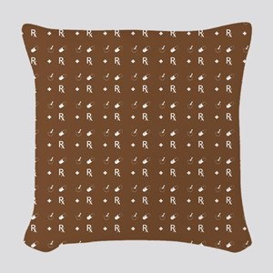 Pharmacy Pattern Woven Throw Pillow
