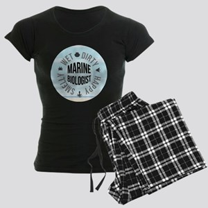 Marine Biologist Women's Dark Pajamas