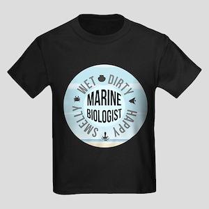 Marine Biologist Kids Dark T-Shirt