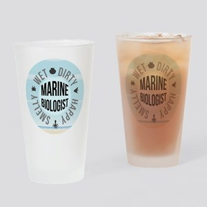 Marine Biologist Drinking Glass